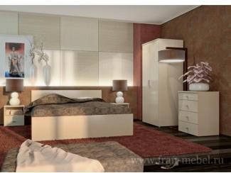 Простая спальня Ода  - Мебельная фабрика «Фран»