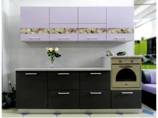 Кухня АРТ с декоративными вставками