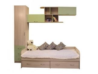 Детская Карамелька комбинация 2 - Мебельная фабрика «Балтика мебель»