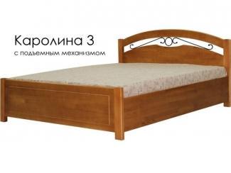 Кровать Каролина 3 - Мебельная фабрика «Массив»