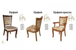 Стул Орфей - Мебельная фабрика «Вектра-мебель»