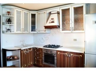 Угловая кухня ламинат
