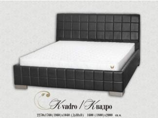 Кровать Квадро - Мебельная фабрика «Angelo Astori»