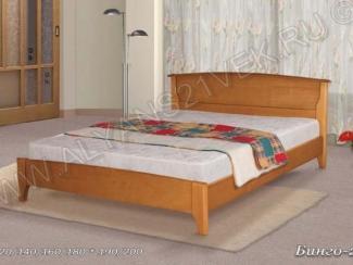 Кровать из дерева Бинго 2 - Мебельная фабрика «Альянс 21 век»