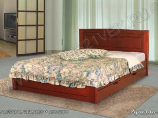Кровать из дерева Ариель 2 - Мебельная фабрика «Альянс 21 век»