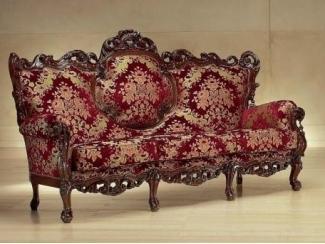 Красный диван на ножках Casanova - Импортёр мебели «Spazio Casa»