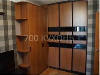 Шкаф - купе угловой 3869 - Мебельная фабрика «700 Кухонь»