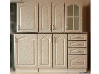кухня Золушка МДФ (серый мрамор) - Мебельная фабрика «Киржачская мебельная фабрика»