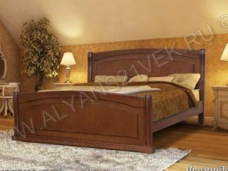 Кровать из дерева Флорида - Мебельная фабрика «Альянс 21 век»