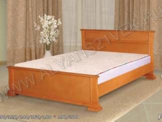 Кровать из дерева Рио 2 - Мебельная фабрика «Альянс 21 век»