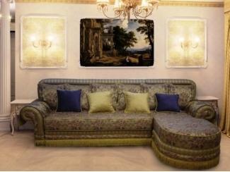 Диван с оттоманкой Бельмонте - Мебельная фабрика «Record Bedding»