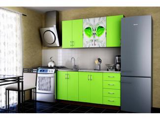 Кухонный гарнитур Гурман 1 Лайм - Мебельная фабрика «Меон»