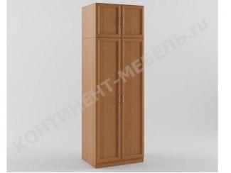 Шкаф распашной 2-х дверный с антресолью - Мебельная фабрика «Континент-мебель»