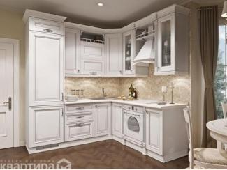 Угловой кухонный гарнитур Альба  - Мебельная фабрика «Камеа (Квартира 48)»