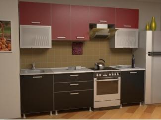 Кухня прямая Азалия комплектация 8 - Мебельная фабрика «Алсо»
