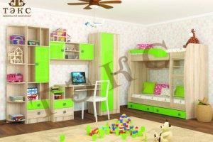 Детская Колибри мохито - Мебельная фабрика «ТЭКС»