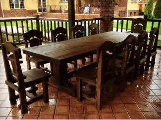 Обеденная группа с большим столом - Мебельная фабрика «Массив»