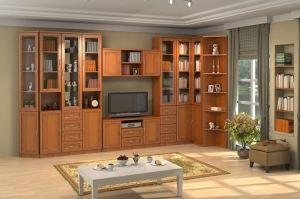 Гостиная стенка Гарун вариант 10 - Мебельная фабрика «Уют сервис»
