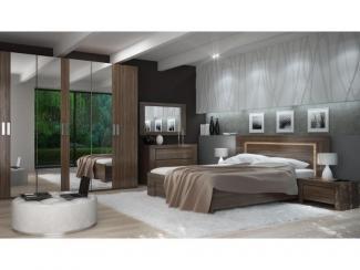 Спальный гарнитур Джаз - Мебельная фабрика «Мебель-Москва»