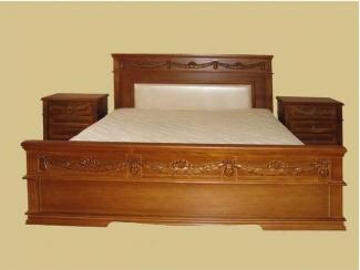 Кровать из массива дерева 1807