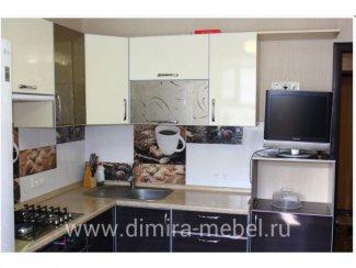 Угловая кухня пластик - Мебельная фабрика «Dimira»