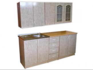 Кухня прямая Витраж - Мебельная фабрика «Мебель эконом»