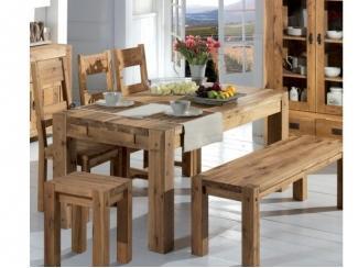 Кухонный набор Норвегия из натурального дерева  - Мебельная фабрика «Дубрава»