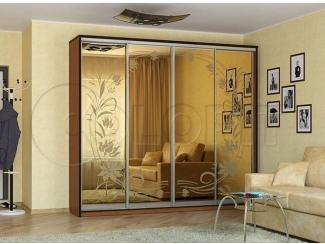 Шкаф-купе четырехдверный  - Мебельная фабрика «Колорит»