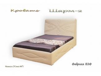 Кровать  с подъемным механизмом Шарм 2 - Мебельная фабрика «ВЭФ»