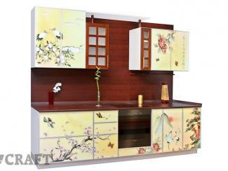Кухня прямая Саяна - Мебельная фабрика «Крафт»