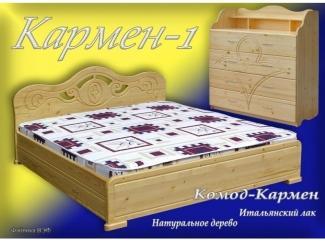 Кровать Кармен 1 - Мебельная фабрика «ВЭФ»