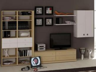 Гостиная стенка модульная - Изготовление мебели на заказ «Мега»