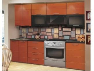 Кухня прямая Апельсиновый Фреш - Мебельная фабрика «Форт» г. Ульяновск