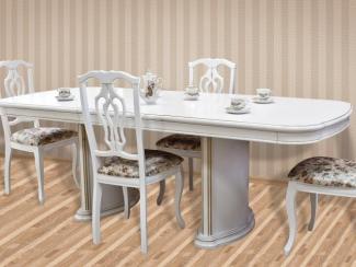 Стол обеденный НМ-1700 (белый) - Мебельная фабрика «Нижегородец»