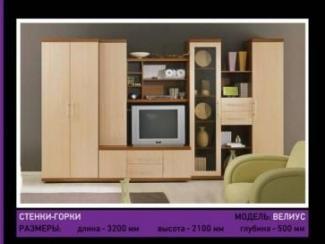 Гостиная стенка Велиус - Мебельная фабрика «Мебель-мастер»