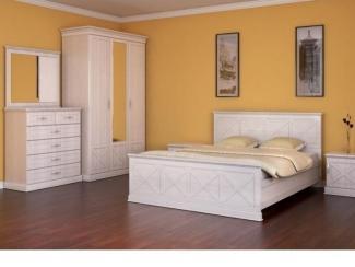 Спальный гарнитур Прованс 1 - Мебельная фабрика «Успех»