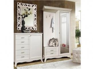 Белая мебель для прихожей Амели  - Мебельная фабрика «Ярцево»