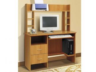 Cтол однотумбовый с надстройкой - Мебельная фабрика «РиАл»