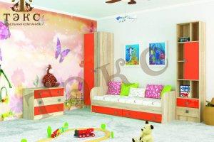 Детская Колибри орандж - Мебельная фабрика «ТЭКС»