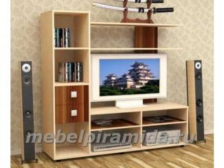 Гостиная стенка ТВ 1 - Мебельная фабрика «Пирамида», г. Краснодар