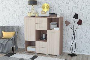 Комод 4 ящ 2 створки - Мебельная фабрика «Вега»