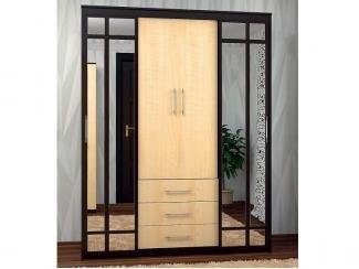 Шкаф-купе комбинированный 1700 с зеркалом - Мебельная фабрика «Вита-мебель»