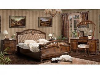 Спальный гарнитур Афина шелкография