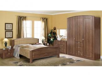 Спальный гарнитур «Элегия 3» - Мебельная фабрика «Элегия»