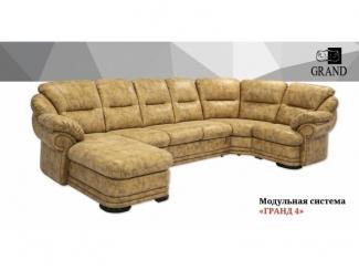 Диван угловой Гранд 4 - Мебельная фабрика «Ивушка» г. Усолье-Сибирское