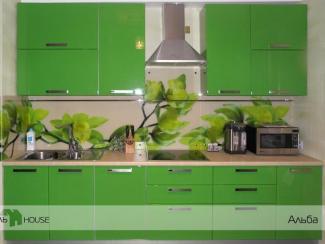Кухонный гарнитур прямой Альба - Мебельная фабрика «Мебель Хаус», г. Ульяновск
