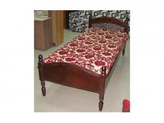 Односпальная кровать из Массива  - Мебельная фабрика «Северная Двина»