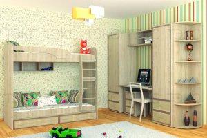 Детская Джульетта для двоих - Мебельная фабрика «ТЭКС»