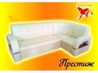 Белый диван Престиж 2 - Мебельная фабрика «Натали»