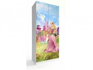 Шкаф в детскую Принцессы 1 - Мебельная фабрика «Астера (ТМФ)»